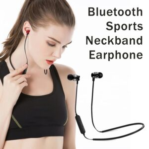 Bluetooth Magnetic Sports Neckband Earphone