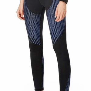 Women Carbon Compression Tights (Blue)