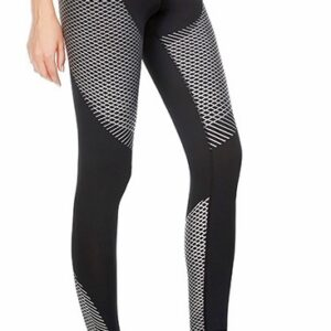 Women Carbon Compression Tights (Silver)