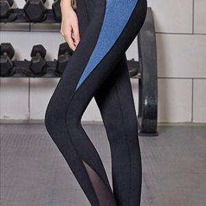 Flashy high waist tights