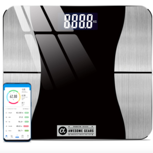 smart body fat weighing machine